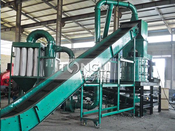 PGX1500废钢破碎生产线